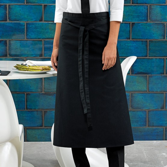 Long bar apron