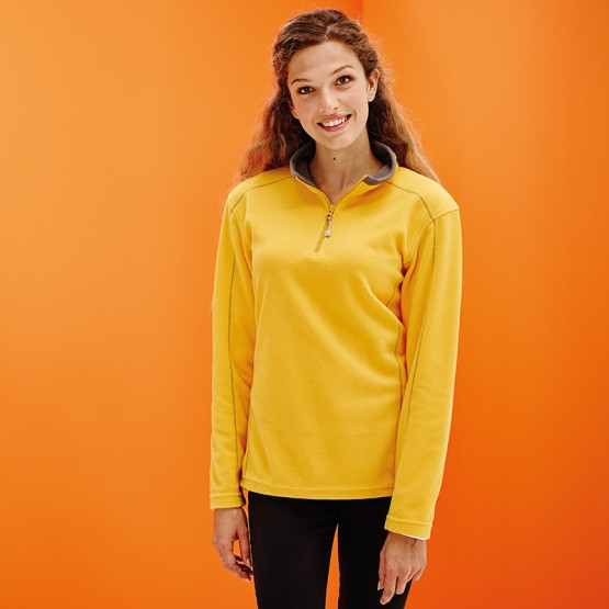 Women's Ashville zip-neck fleece