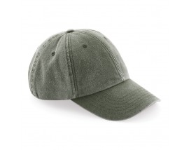 Low-profile vintage cap