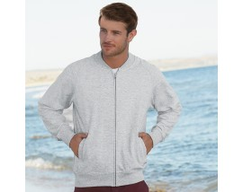 Baseball sweatshirt jacket