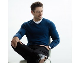 V-neck marl jumper