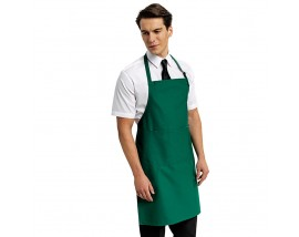 Deluxe apron with neck-adjusting buckle