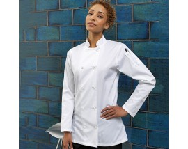 Women's long sleeve chef's jacket