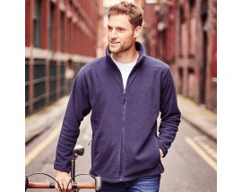 Full-zip outdoor fleece