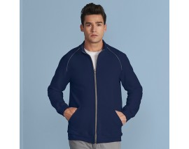Premium cotton full-zip jacket