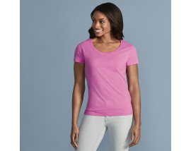 Softstyle® women's deep scoop t-shirt