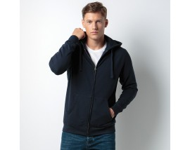 Klassic hooded zipped jacket Superwash® 60° long sleeve