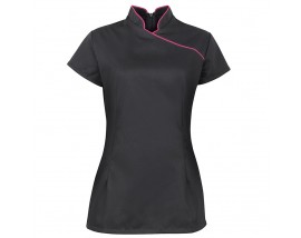 Women's stand collar beauty tunic (NF977)