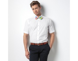 Slim fit business shirt short sleeve