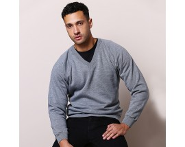 Coloursure™ v-neck sweatshirt