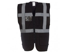Multi-functional executive hi-vis waistcoat (HVW801)