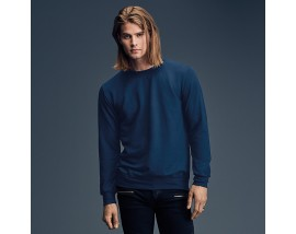 Anvil crew neck French terry sweatshirt
