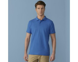 Softstyle adult double piqué polo