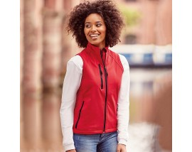 Women's softshell gilet
