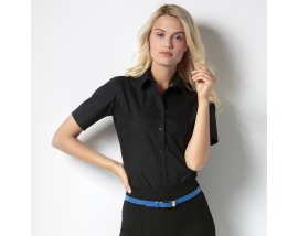 Women's city business blouse short sleeve