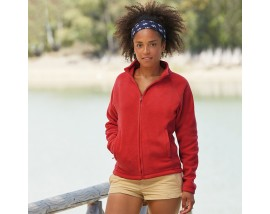 Lady-fit full-zip fleece
